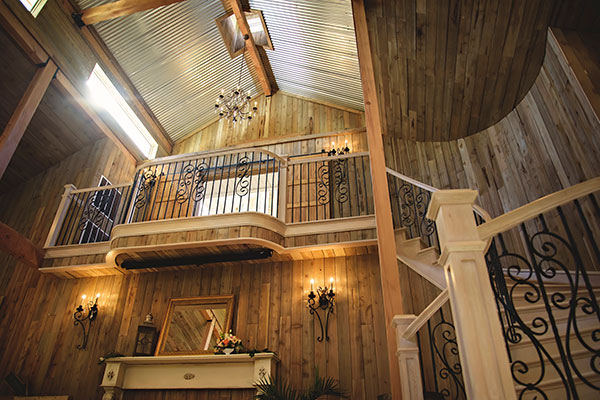 Image of inside of building - Whispering Oaks Wedding Venue